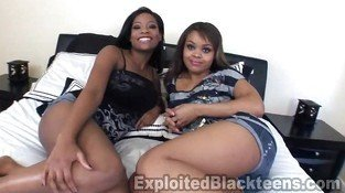 Two 18yr old Ebony Teens in