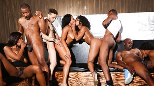 Misty Stone & Chanell Heart &