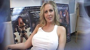 Blond Julia Ann gets fucked by a