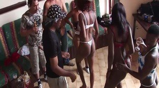 african sex party orgy