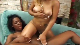Horny Black Lesbians Get Each Other
