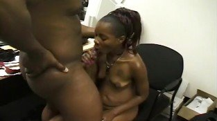 Suck Some Black Dick In The Office