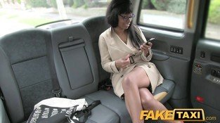 Fake Taxi High heels and blowjob