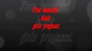 Five Beautiful black girls pregnant