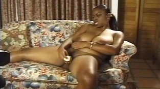 Camera Capturing Ebony Lola